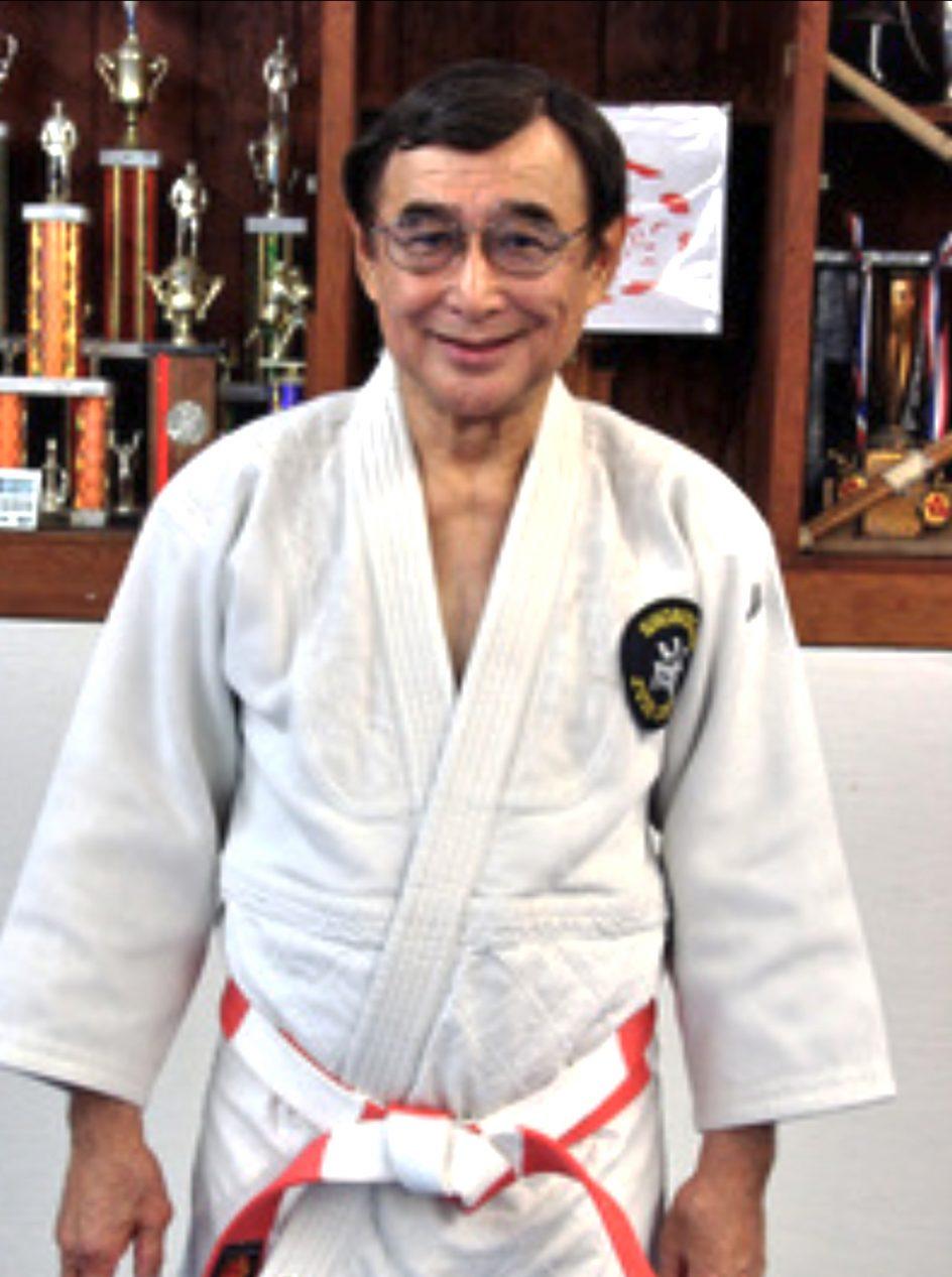 Lloyd Migita, a judo red and white belt